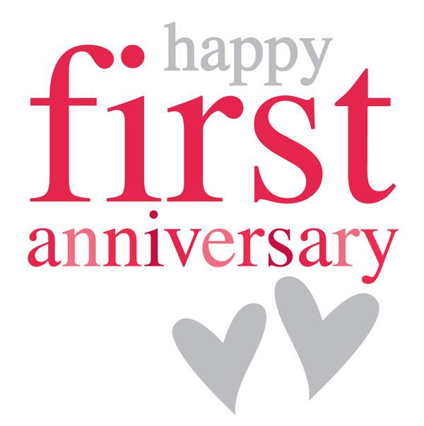 happy one anniversary